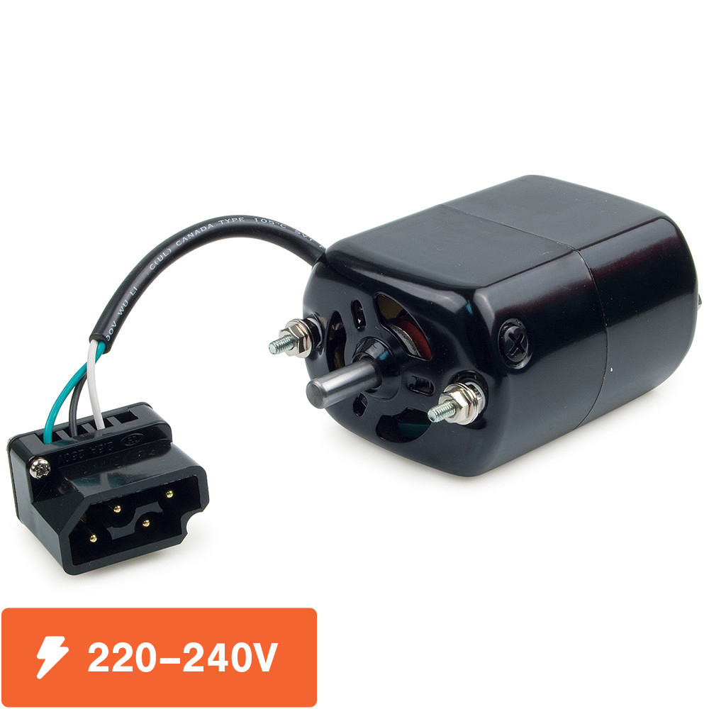 220–240 volt motor for ultrafeed sewing machines