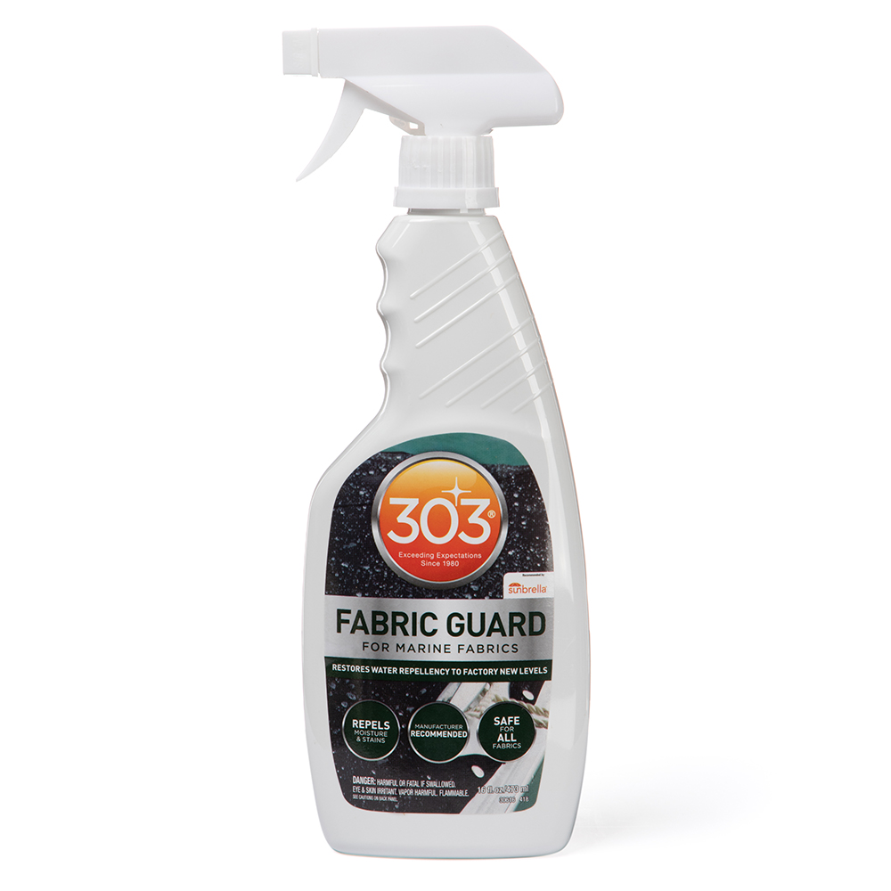 fabric guard 303