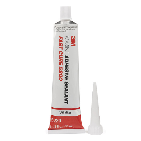 3M Adhesive Fast Cure White 5200 3oz