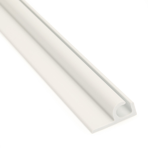 """Awning Track Flanged White 48"""" - Sailrite"""
