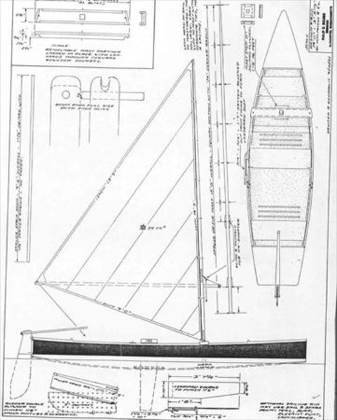 Bolger June Bug Sail Data