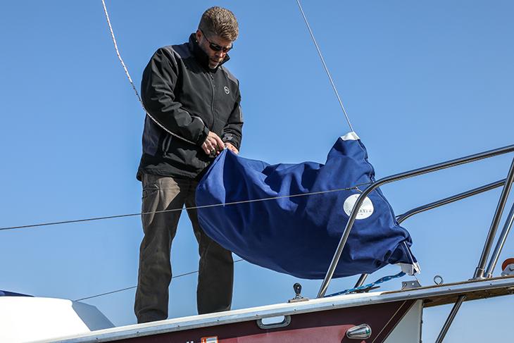 How to Make a Foredeck Sail Bag Kit - Sailrite