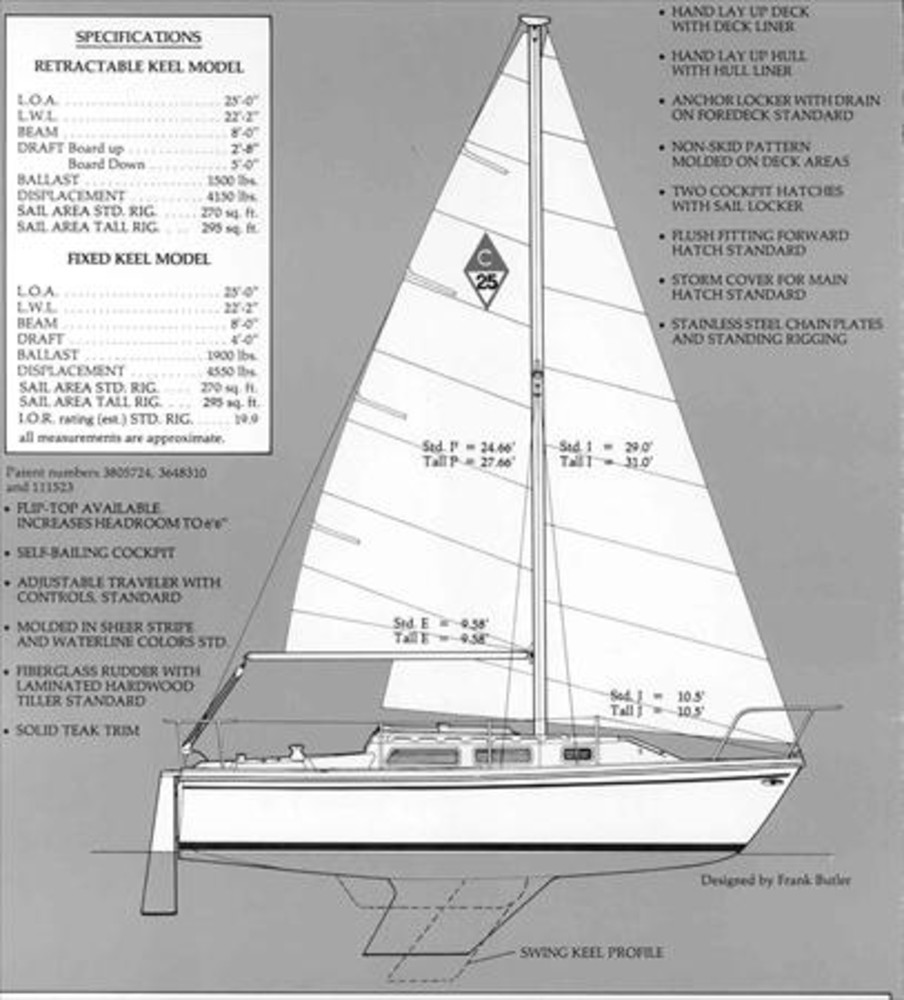 Catalina 22 Parts