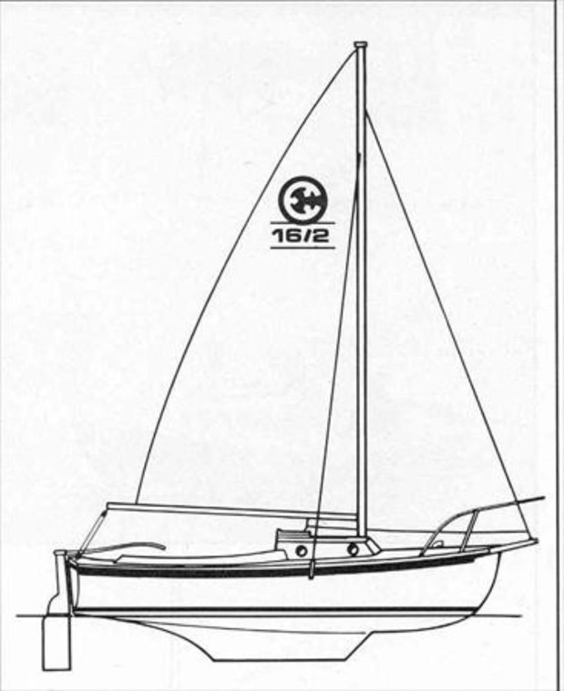 Compac 16/2 Sail Data