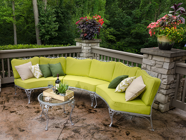 Patio cushions need an outdoor foam - Foam Series: Selecting The Right Outdoor Living Foam - Sailrite