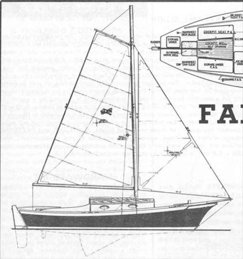Glen L Fancy Free Sail Data