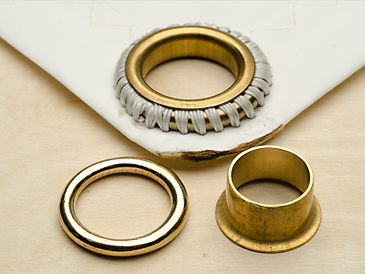 Grommet vs  Eyelet: What's the Difference? - Sailrite