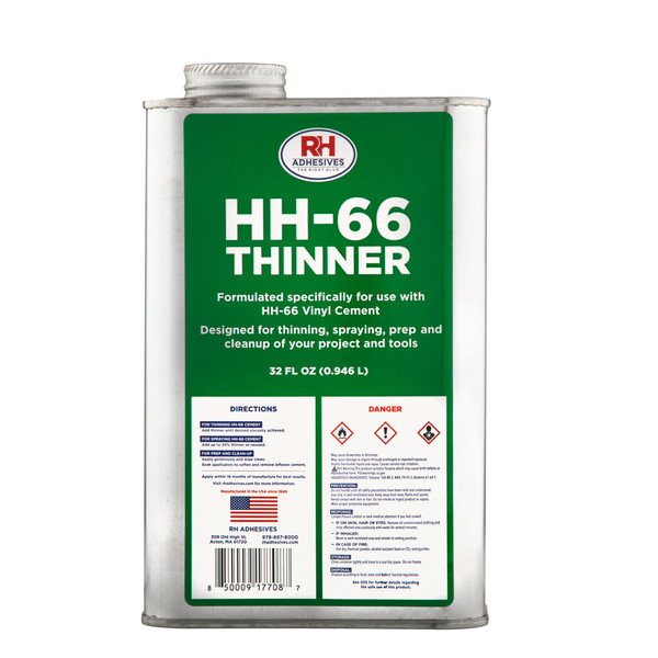 HH-66 Thinner 32oz (Quart)