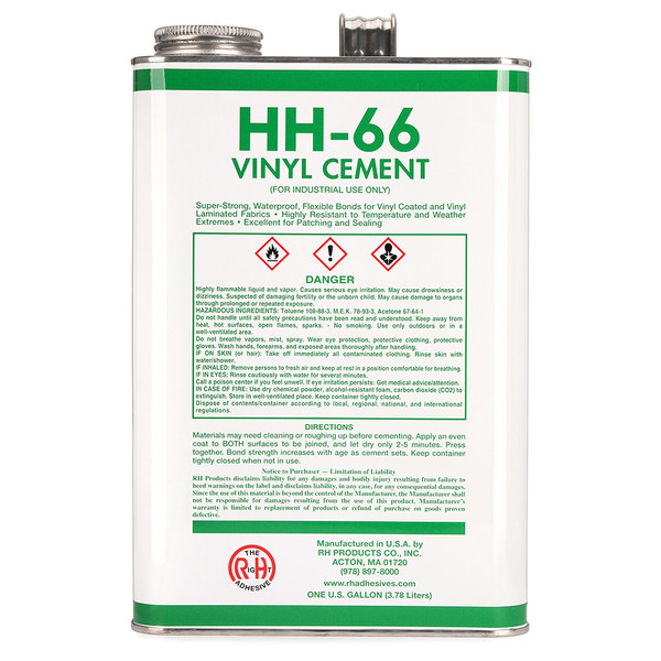 HH-66 Vinyl Cement 128oz (Gallon)