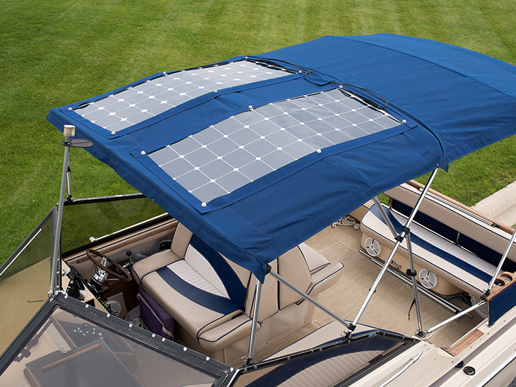 how to install solar panels on a bimini sailrite Solar Array Wiring