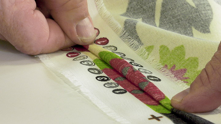 Matching up patterned fabrics to create a wider piece of fabric is easier than you think.