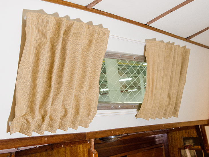 DIY Boat Cabin Curtains