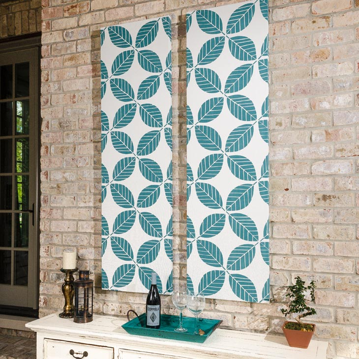 Fabric Wall Art how to make outdoor fabric wall art video - sailrite