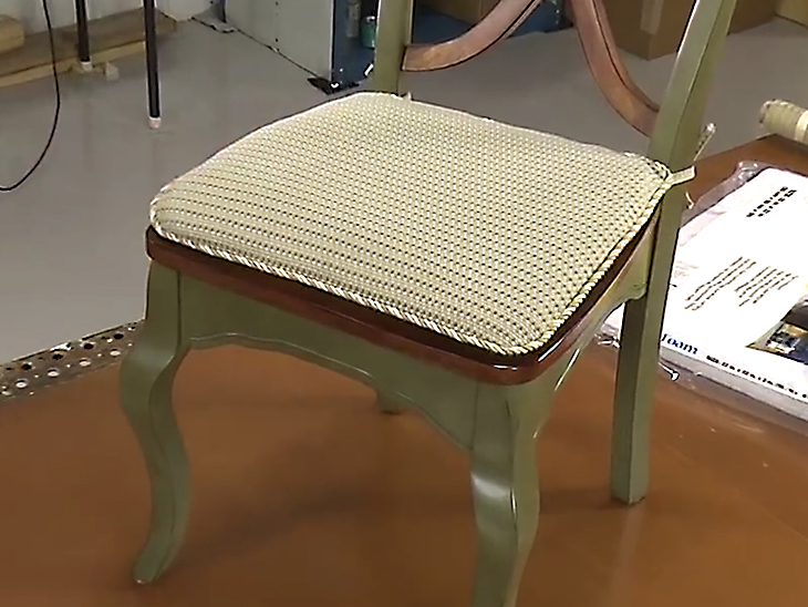 Super How To Make Your Own Chair Pad Cushions Video Sailrite Inzonedesignstudio Interior Chair Design Inzonedesignstudiocom