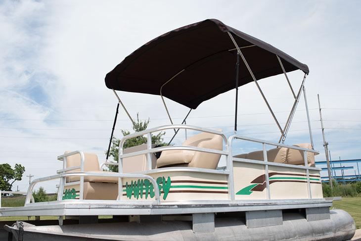 boat marine pontoon awning custom design format covers heartland