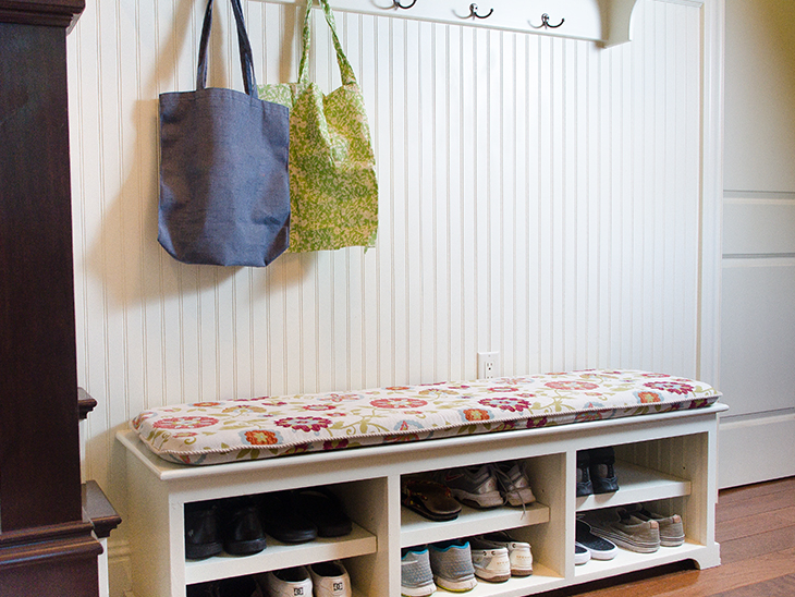 Diy Mudroom Bench Cushion