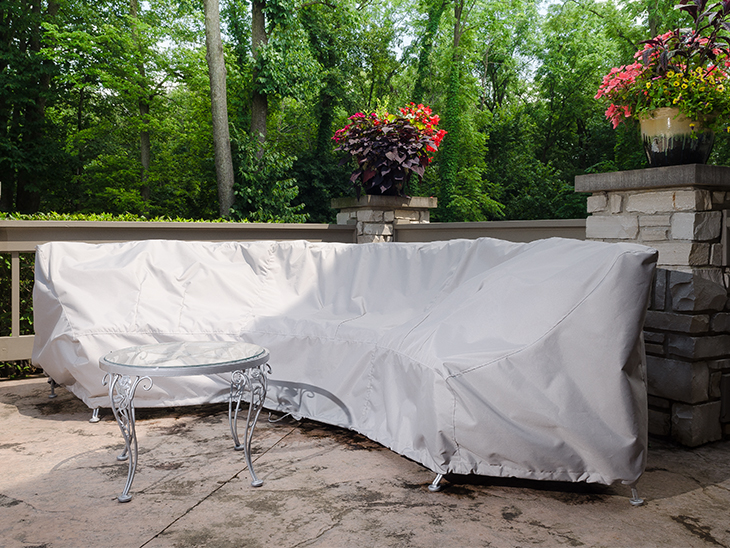 How To Make A Cover For A Curved Patio Set Sailrite