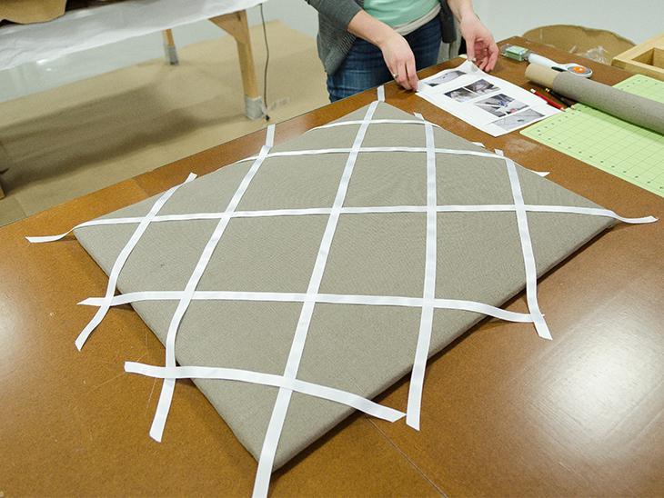 How To Make A Fabric Memo Board Sailrite Unique Padded Memo Board