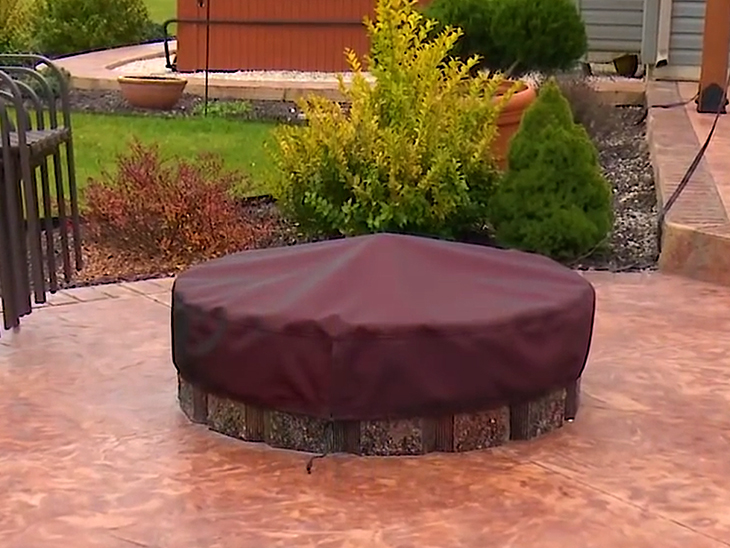 Make Your Own Cover For A Fire Pit