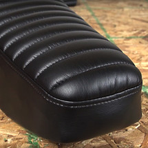 How To Recover A Motorcycle Seat Using Stretch Vinyl Fabric Sailrite - Vinyl for motorcycle seat