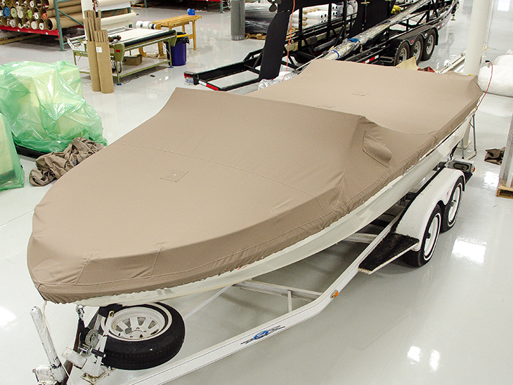 Powerboat cover