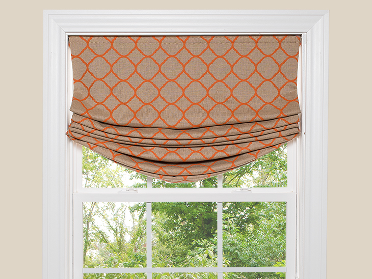 How To Make A Relaxed Roman Shade Sailrite