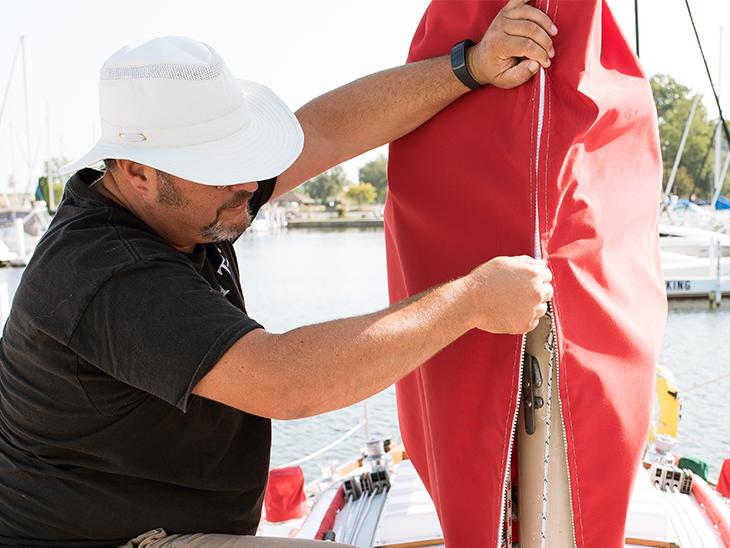 How to Make a Sail Cover - Sailrite