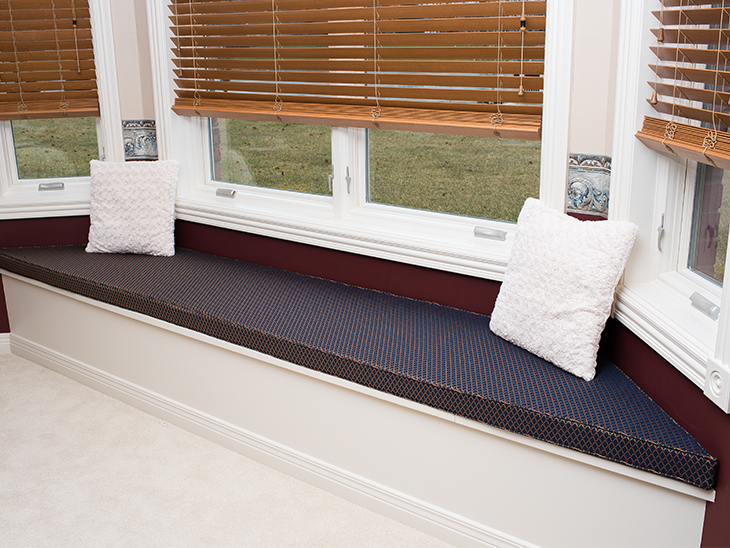 How To Make A Diy Bay Window Seat Cushion Sailrite