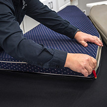 Patterning Moisture Prevention Underliner fabric