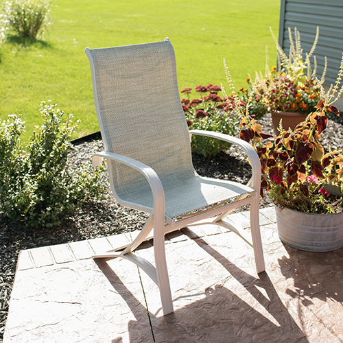 Terrific How To Replace Fabric On A Patio Sling Chair Sailrite Forskolin Free Trial Chair Design Images Forskolin Free Trialorg