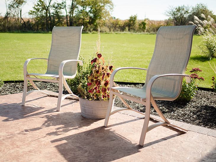 Beau Outdoor Chair Fabric Mesh Uk Designs