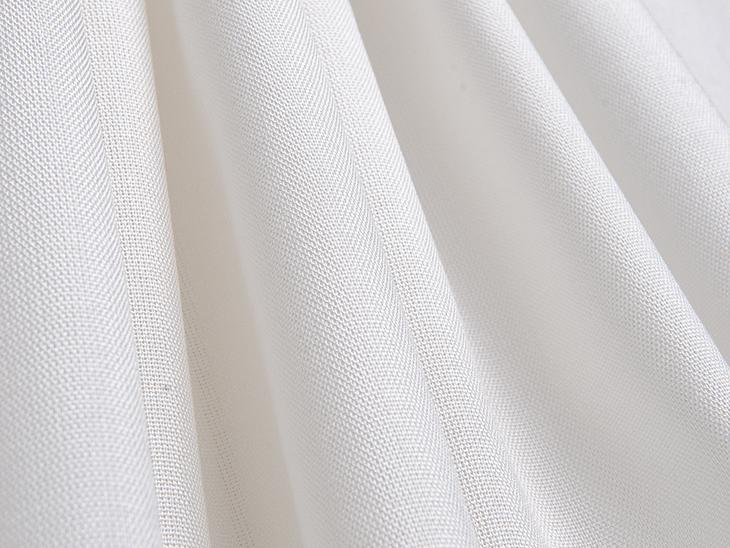 UV Rated Fabric, Sunbrella Sheer Mist Snow.