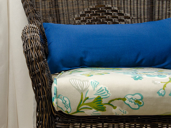 DIY Bullnose Patio Cushion