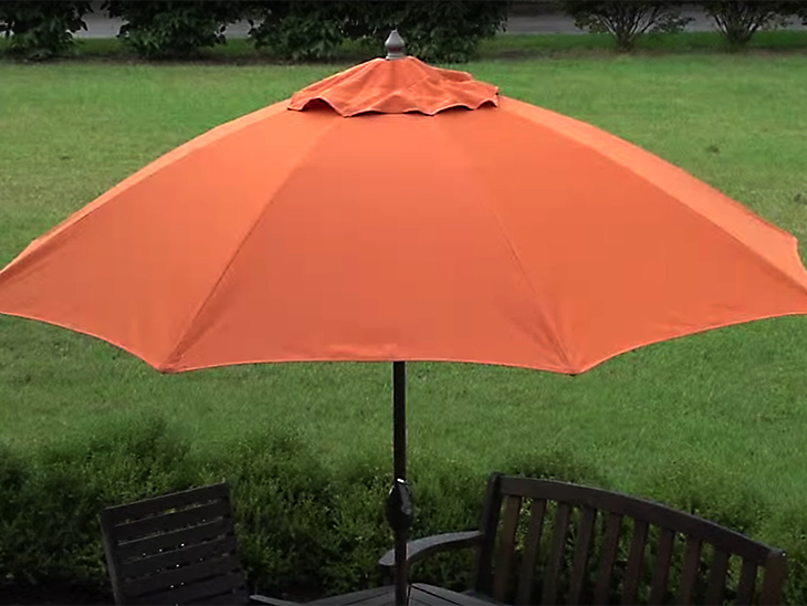 Make a new canopy for your patio umbrella using Sunbrella fabric : sunbrella umbrella canopy - afamca.org