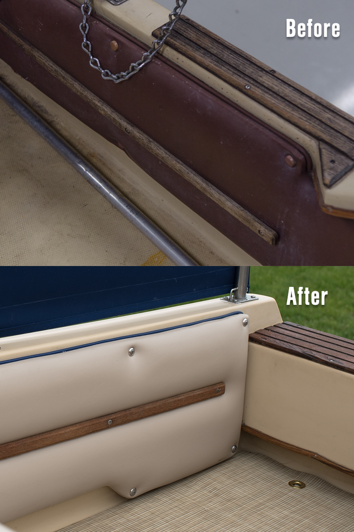How to Upholster Side Panels on a Powerboat Video - Sailrite