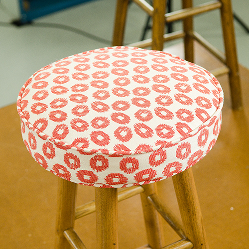 How To Upholster A Bar Stool Video