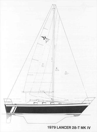Lancer 28 T MK IV Sail Data