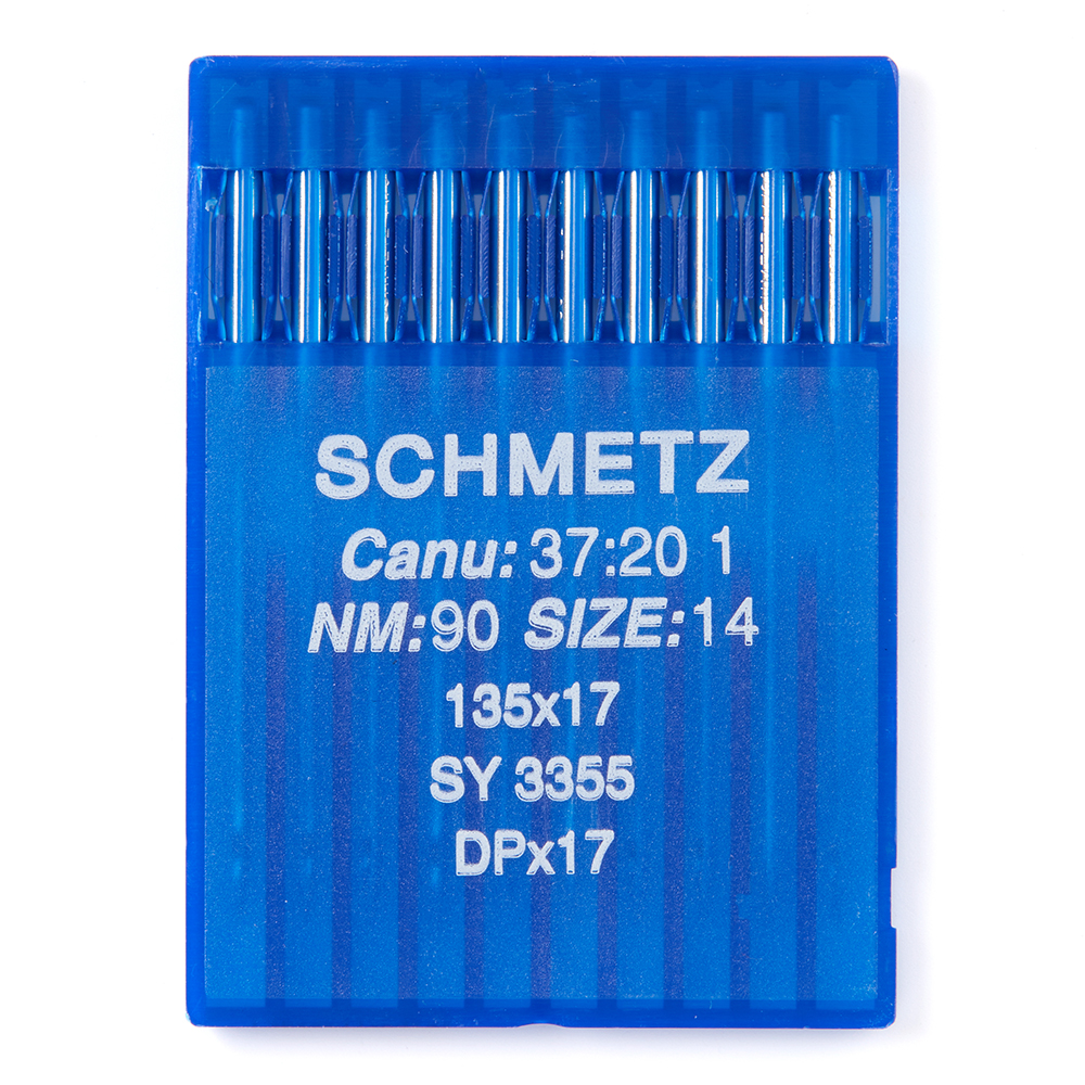 10 SCHMETZ  135X17 SIZE#14 90 INDUSTRIAL SEWING MACHINE NEEDLES DPX17 SY3355