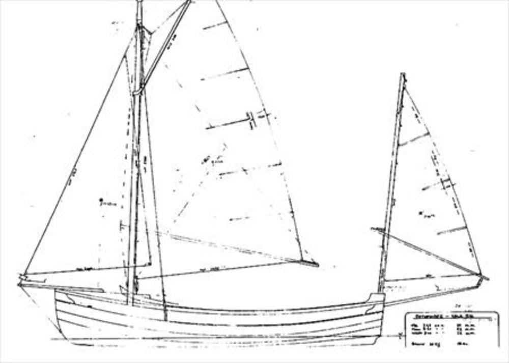 Pathfinder Yawl Rig Sail Data