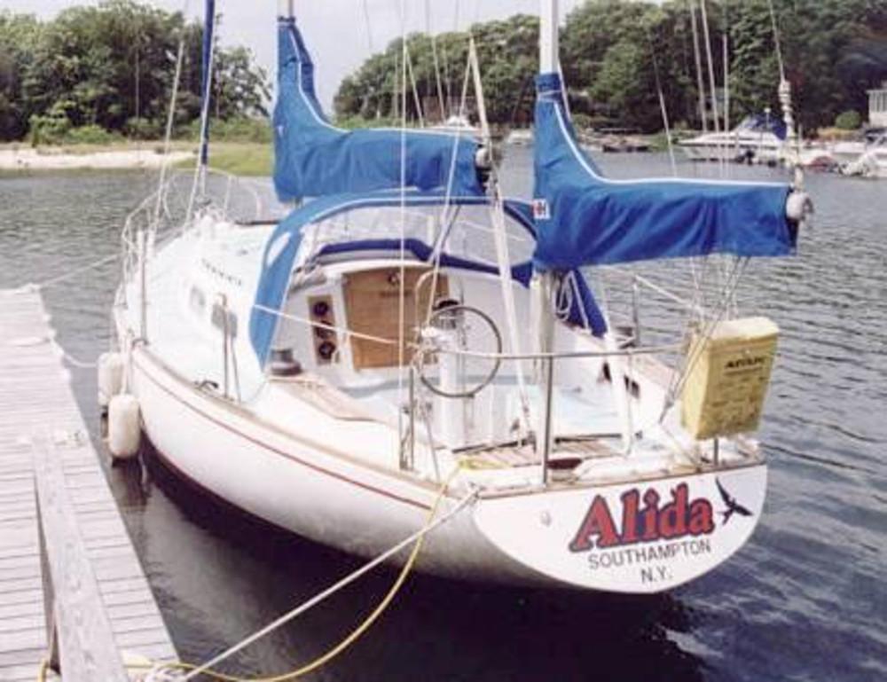 Pearson 39 (yawl Rig) Sail Data