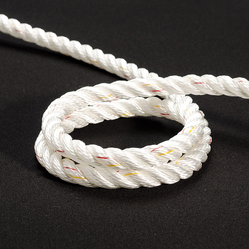 34ff6a9fd10 New England Sta-Set Double Braid Rope 3 8