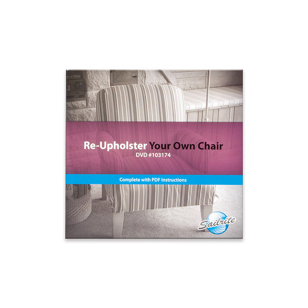 Re-Upholster Your Own Chair DVD