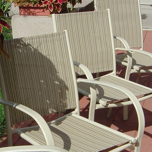Selecting Patio Sling Chair Replacement, Sling Chair Material