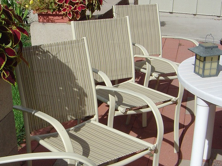 selecting patio sling chair replacement fabric sailrite rh sailrite com