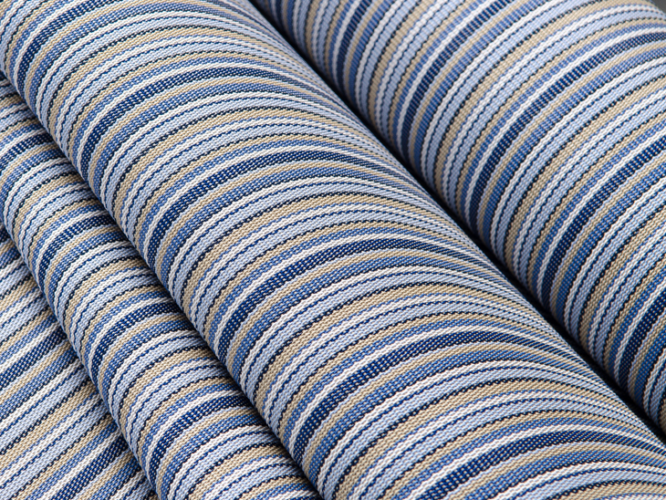 Phifertex Plus Delray Stripe Is A Great Choice For Sling Chairs