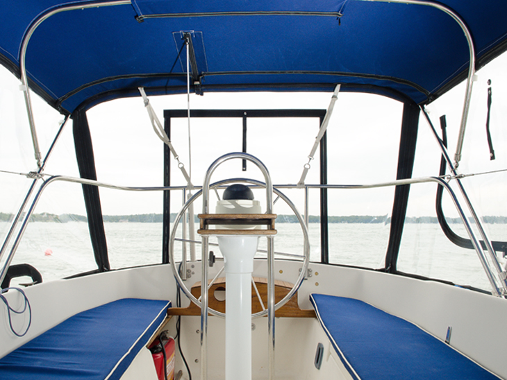 Selecting the Best Fabric for Cockpit Cushions - Sailrite