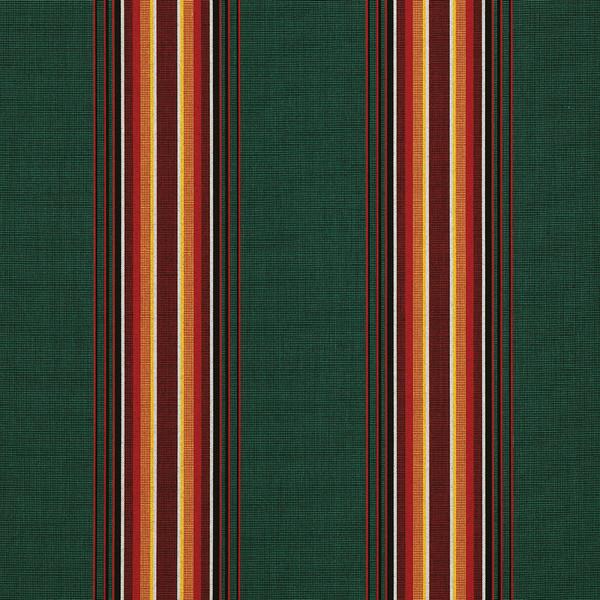 Sunbrella Awning Stripe 4751 0000 Hemlock Tweed Fancy 46