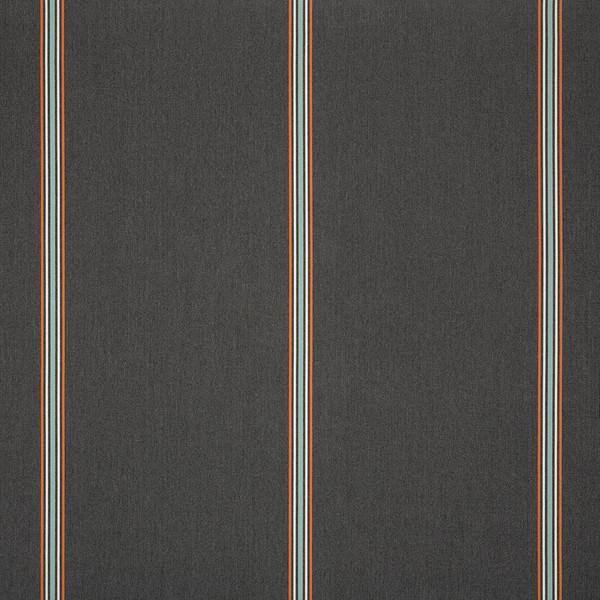 "Sunbrella Awning Stripe 4830-0000 Balance Ember 46"" Fabric ..."