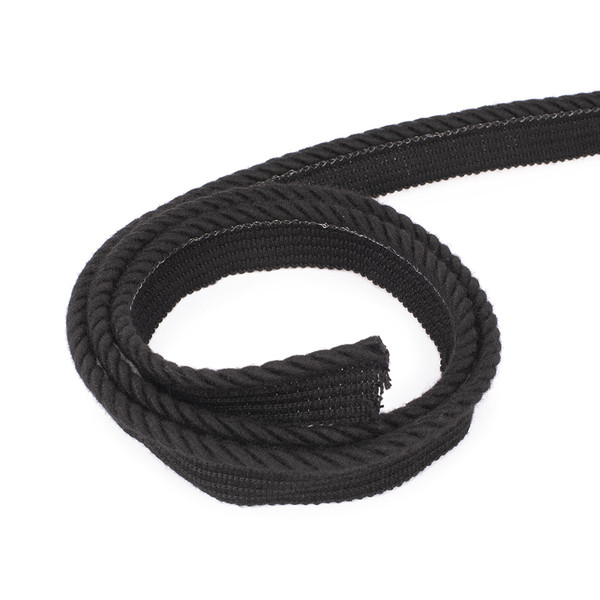 "Sunbrella Decorative Piping Trim 1/4"" Black"