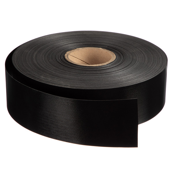 "Tape Shelter-Rite 18oz Black 3"" (Not Adhesive Backed)"